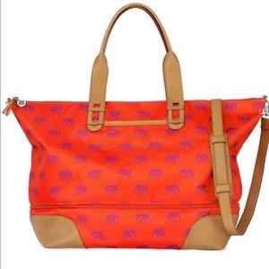 Stella & Dot Elephant Getaway Bag